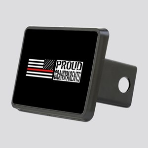 Firefighter: Proud Grandpa Rectangular Hitch Cover