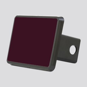wine red burgundy plum Rectangular Hitch Cover