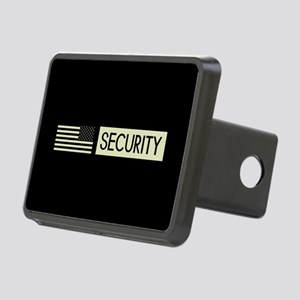 Security (Reverse Black Fl Rectangular Hitch Cover
