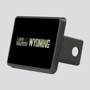 Black Flag: Wyoming Rectangular Hitch Cover