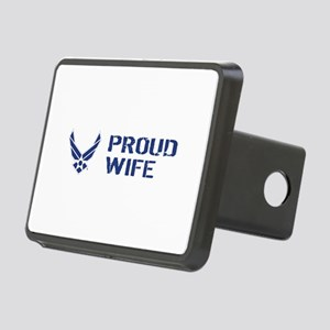 USAF: Proud Wife Rectangular Hitch Cover