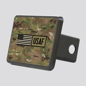 U.S. Air Force: USAF (Camo Rectangular Hitch Cover