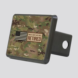 U.S. Air Force: Retired (C Rectangular Hitch Cover