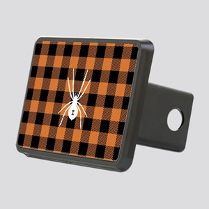 Buffalo Plaid: Halloween S Rectangular Hitch Cover
