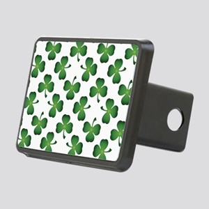 Lucky Shamrock Green Pattern Hitch Cover