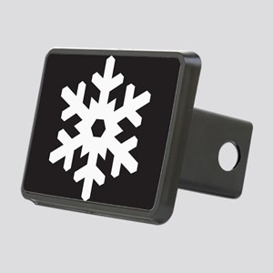 Snowflake Symbol Rectangular Hitch Cover