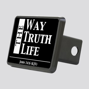 The Way, The Truth, The Li Rectangular Hitch Cover
