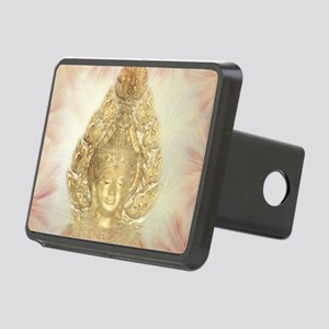 golden buddha Rectangular Hitch Cover
