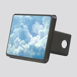 Puffy Clouds Rectangular Hitch Cover