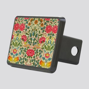 Rose Chintz Pattern Colorf Rectangular Hitch Cover