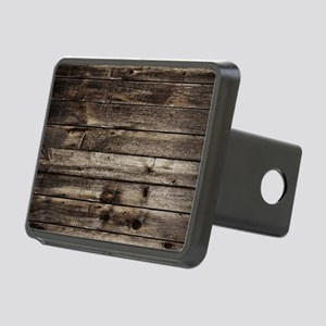 rustic primitive grey barn Rectangular Hitch Cover