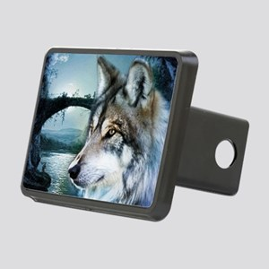 romantic moonlight wild wo Rectangular Hitch Cover