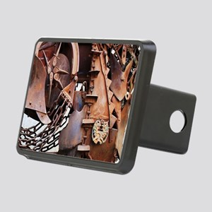 rustic Mechanical Gears st Rectangular Hitch Cover