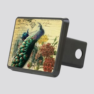 french botanical vintage p Rectangular Hitch Cover