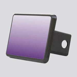 modern purple ombre Rectangular Hitch Cover