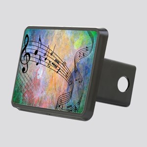 Abstract Music Rectangular Hitch Cover