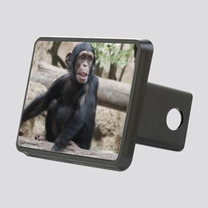Young Chimp 02 Rectangular Hitch Cover