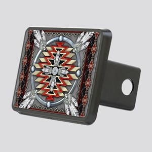 Native American Tapestry 0 Rectangular Hitch Cover