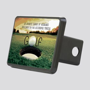 The Miracle of Golf Rectangular Hitch Cover