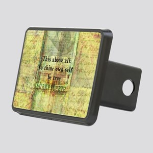 Shakespeare inspirational Rectangular Hitch Cover