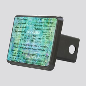 Jane Austen quotes Rectangular Hitch Cover