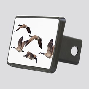 Flock of Canadian Geese Rectangular Hitch Cover