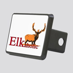 Elkaholic Bull Rectangular Hitch Cover