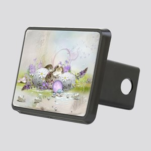 Easter Eggs Rectangular Hitch Cover