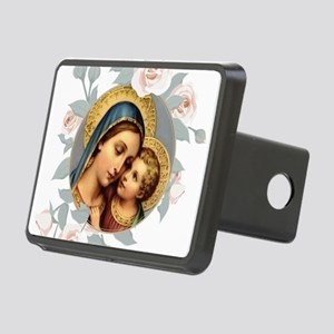 Our Lady of Good Remedy Rectangular Hitch Cover