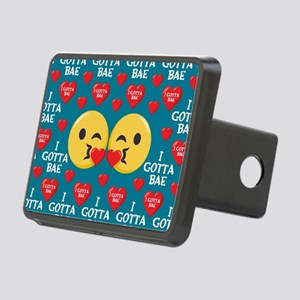 Emoji I Gotta Bae Rectangular Hitch Cover