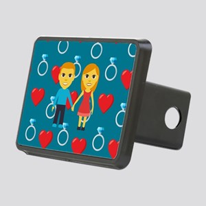 Emoji Engaged Rectangular Hitch Cover