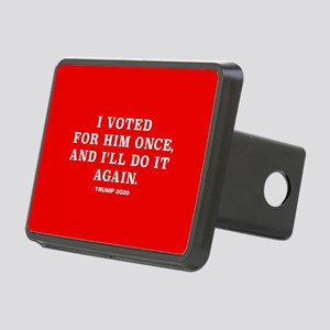 Trump 2020 - Vote For Him Rectangular Hitch Cover