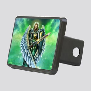 Angel Michael Rectangular Hitch Cover