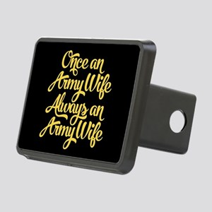 Once An Army Wife Rectangular Hitch Cover