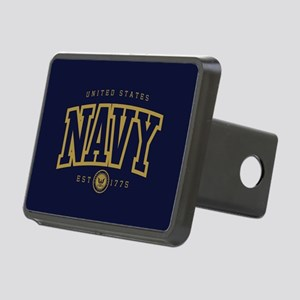 United States Navy Athleti Rectangular Hitch Cover