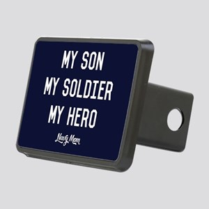 U.S. Navy My Son My Soldie Rectangular Hitch Cover