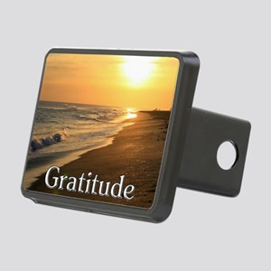 Gratitude Sunset Beach Rectangular Hitch Cover