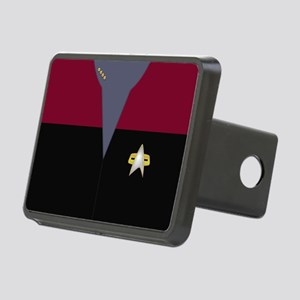 Star Trek: VOY Red Captain Rectangular Hitch Cover