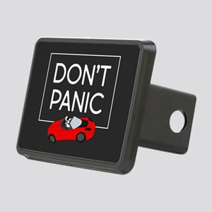 Roadster - Don't Panic Rectangular Hitch Cover