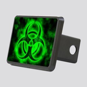 Green Biohazard Symbol Hitch Cover