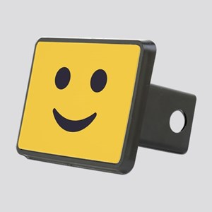 Smile Emoji Face Rectangular Hitch Cover