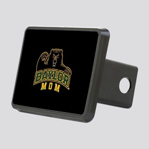 Baylor Mom Bear Rectangular Hitch Cover