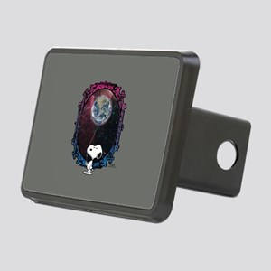 Space Snoopy Rectangular Hitch Cover
