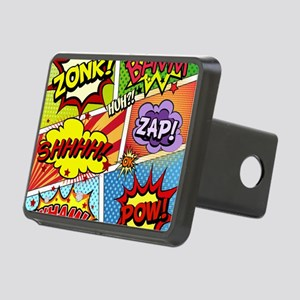 Colorful Comic Hitch Cover