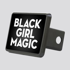Black Girl Magic Rectangular Hitch Cover
