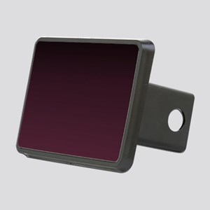 gothic burgundy ombre Rectangular Hitch Cover