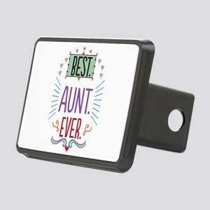 Best Aunt Ever Rectangular Hitch Cover