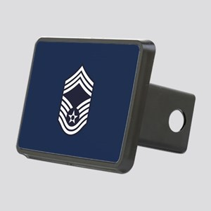 USAF: CMSgt E-9 (Blue) Rectangular Hitch Cover