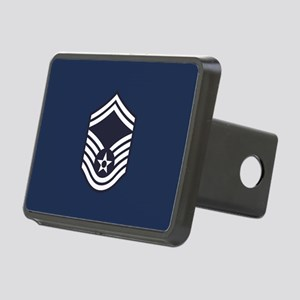 USAF: SMSgt E-8 (Blue) Rectangular Hitch Cover