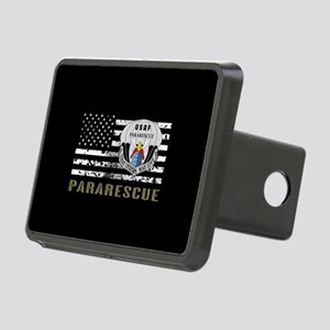 Pararescue Rectangular Hitch Cover